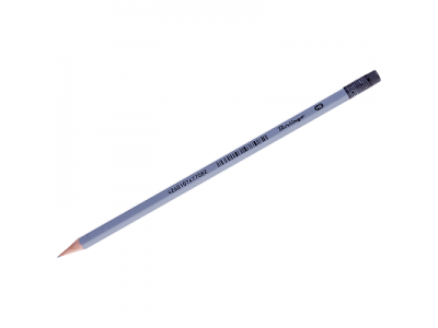 "Карандаш ч/г Berlingo ""Silver"" HB, с ластиком, заточен., арт. BP01030"