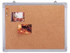 Доска информационная пробковая, 60х90 см, алюминиевая рамка, арт. IWB-403