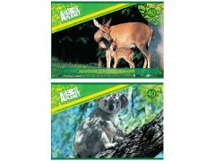 """Альбом для рисования ACTION! """"ANIMAL PLANET"""", 40 л., 2 дизайна, арт. AP-AA-40"""