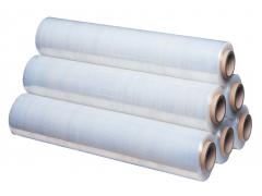 Стретч-пленка для ручной обмотки 500мм*300м, 17 мкм, цена за рулон 2,34кг