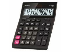 Калькулятор настольный Casio GR-12 черный 12-разр., арт. GR-12-W-EH