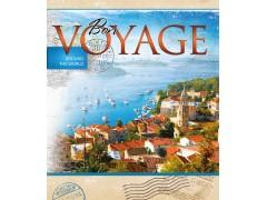 Тетрадь VOYAGE, ф.А5, 48л., мелованный картон, уф-лак, клетка, 4 дизайна, арт. 002000200