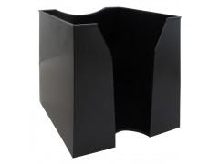 Подставка для бумажного блока 9х9х9, Workmate, черная