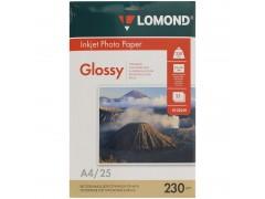 Бумага А4 для стр. принтеров Lomond, 230г/м2 (25л) гл.одн. 0102049