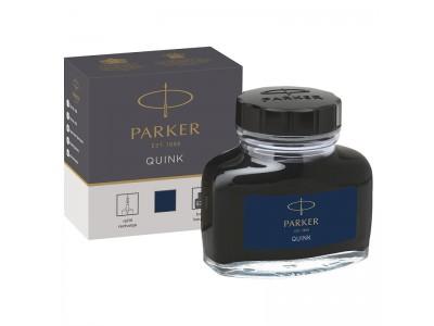 Чернила для перьевых ручек QUINK, флакон 57 мл, сине-черного цвета, арт. PARKER-1950378