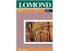 Бумага А4 для стр. принтеров Lomond, 220г/м2 (50л) мат.дв. 0102144