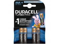 Батарейка Duracell Turbo Max AAA (LR03) 4BL