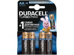 Батарейка Duracell Turbo Max AA (LR06) 4BL