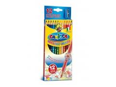 Набор карандашей цветных CARIOCA 12 цв.+точилка, арт.40380