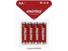 Батарейка SmartBuy AA (LR06) BC4 SBBA-2A04B