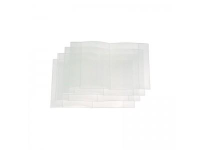 Обложка для тетрадей , п/эт., прозрачная, 50 мкм, разм. 210х350, арт. *15.00т*