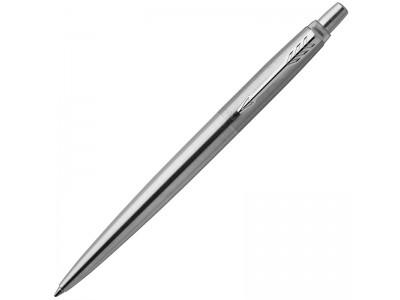 Ручка шариковая JOTTER Stainless Steel CT, корпус из нерж.стали, синие чернила M, арт. PARKER-1953170