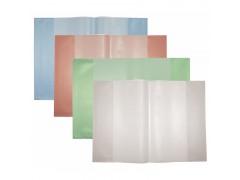 Набор обложек для тетрадей ф.А4, полипроп., апельсиновая корка, разм. 303х436 мм, 5 шт., арт. 05-0067/ASS