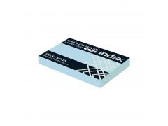 Бумага для заметок с липким слоем, разм. 51х75 мм, 100 л., цвет голубой