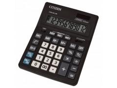 Калькулятор настольн BUSINESSLINE,12 разр., дв. питание, 2 памяти, черный корпус, разм.200*157*35 мм, арт. CDB1201-BK