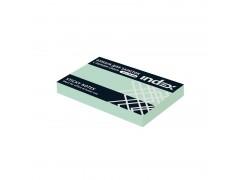 Бумага для заметок с липким слоем, разм. 51х75 мм, 100 л., цвет зеленый