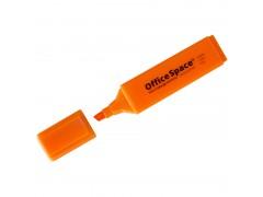 Текстовыделитель OfficeSpace, 1-5мм, арт. H_26, цвет оранжевый