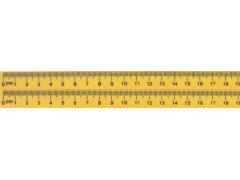 Линейка магнитная для доски с 2-градуировкой 19 см, арт. BW016