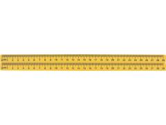 Линейка магнитная для доски с 2-градуировкой 29 см, арт. BW015