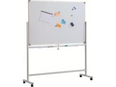 Доска магнитно-маркерная двусторонняя вращ-ся Classic Boards BMD1512-E7, 150х120 см, мобильная на колесиках, арт. E71512 с дефектом