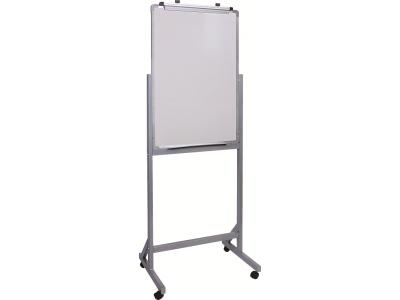 Доска магнитно-маркерная двусторонняя вращ-ся Classic Boards BMF96-VF, 90х60 см, мобильная на колесиках