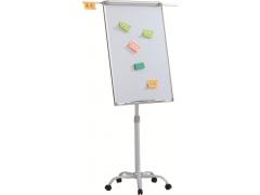 Флипчарт магнитно-маркерный Classic Boards BMF107-VA, 100x70см, мобильный на колесиках, регулируемая высота, арт. VA1070