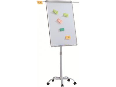 Флипчарт магнитно-маркерный Classic Boards BMF96-VA, 90x60см, мобильный на колесиках, регулируемая высота, арт. VA9060
