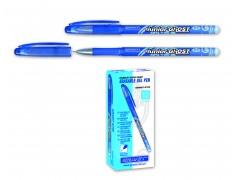 Ручка гелевая со стираемыми термочувствительными чернилами Granit Junior Ghost G705, цвет синий, 2 ластика