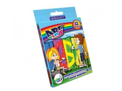 """Фломастеры перекрашивающие """"Arti Kids Magic"""" Granit M145, 8 цв."""