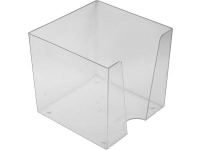 Подставка для бумажного блока 9х9х9, Workmate, прозрачная