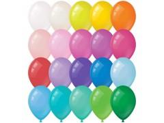 Воздушные шары, 100шт., М12/30см, ArtSpace, пастель, 20 цветов ассорти BL_16090