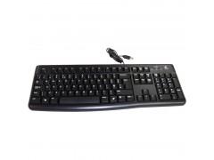Клавиатура Logitech K120, USB, черный 920-002522