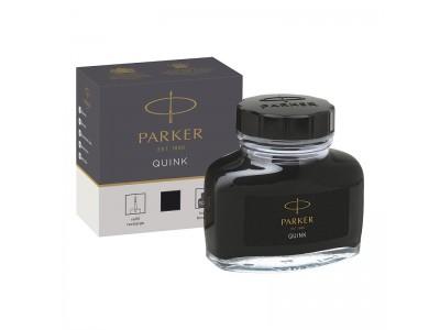 Чернила для перьевых ручек QUINK, флакон 57 мл, цвет чёрный, арт. PARKER-1950375