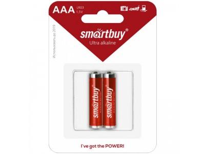Батарейка SmartBuy AAA (LR03) BC2 SBBA-3A02B