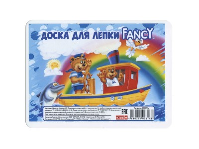 Доска для лепки FANCY, ф.А5, арт. FMBA5E