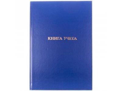 Книга учета БУМВИНИЛ, А4, 192 л., офсет, тв. переплет, клетка, арт. КУ-561