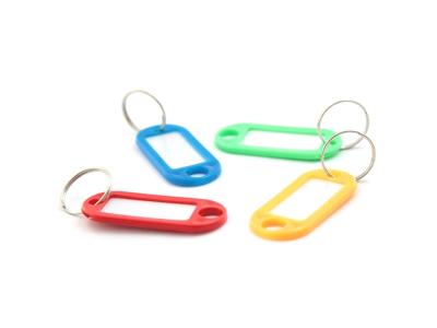 Брелок для ключей с инфо-окном, 1шт, цвет ассорти, арт. SKR50