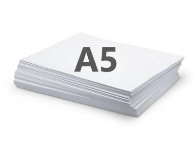 Бумага офисная А5, 80г/м, 500л