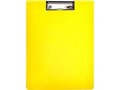 Клип-борд ламинированный, цвета в ассортименте, арт. IND KB, цвет желтый