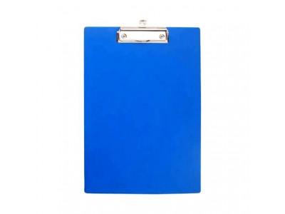Клип-борд ламинированный, цвета в ассортименте, арт. IND KB, цвет синий