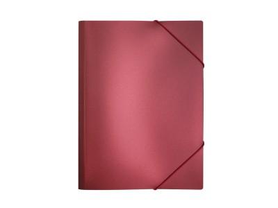 Папка на резинках METALLIC ф. А4, 0,5мм, цвета в ассортименте, арт. IPF311C, цвет красный