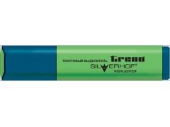 Текстовыделитель, TREND, клин.нак., 1,0-5,0мм, цвет зеленый