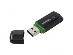 "Память Smart Buy ""Paean"" 32GB, USB 2.0 Flash Drive, черный SB32GBPN-K"