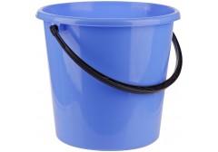 Ведро пластиковое, пищевое OfficeClean, мерная шкала, голубое, 12л., арт. 299880