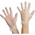 Перчатки виниловые одноразовые, р-р L, 100шт/уп
