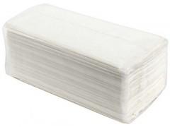 Полотенца бумажные влагопрочные, 100% целлюлоза, V-сложения, 200лист/упаковка
