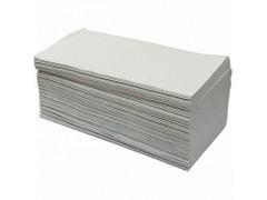 Полотенца бумажные влагопрочные, цвет естественного волокна, V-сложения, 200лист/упаковка