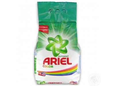 Порошок стиральный СМС Ariel Automat Color автомат, 3кг.