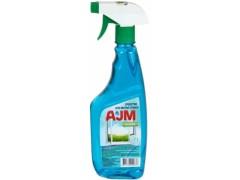 Средство для мытья окон AJM Glass, с триггером, 700мл.
