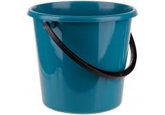 Ведро пластиковое OfficeClean пищевое, мерная шкала, цв.сине-зеленый, 7л, арт. 299878